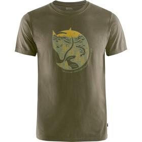 Fjällräven Arctic Fox Camiseta Hombre, Oliva